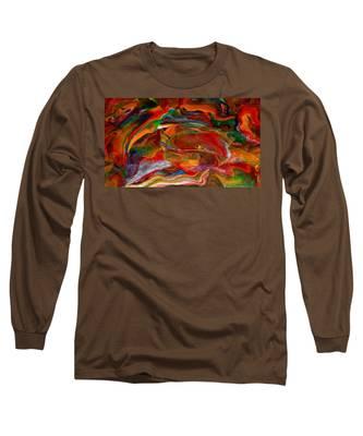 Rainbow Blossom Long Sleeve T-Shirt