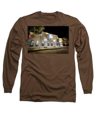 Saturday Night At Gruene Hall Long Sleeve T-Shirt