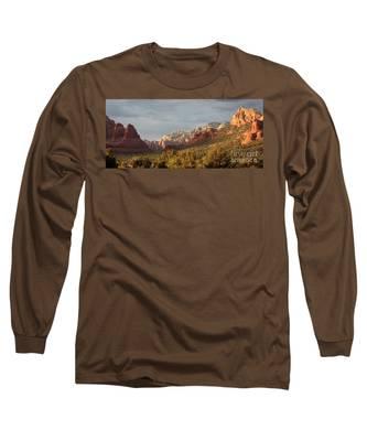 Sedona Sunshine Panorama Long Sleeve T-Shirt