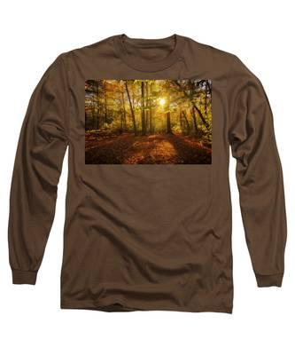 Sunset Forest Long Sleeve T-Shirt