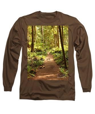 Trail Through The Rainforest Long Sleeve T-Shirt