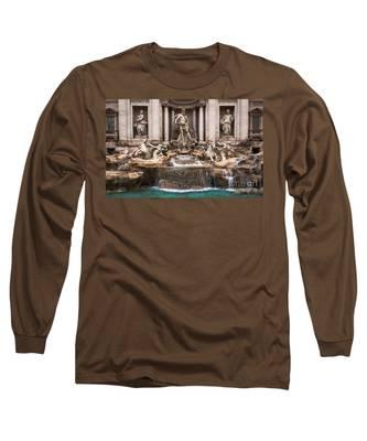 Trevi Fountain Long Sleeve T-Shirt