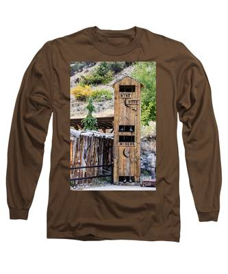Two-story Outhouse Long Sleeve T-Shirt