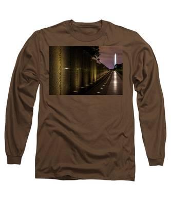 Vietnam Veterans Memorial Long Sleeve T-Shirt