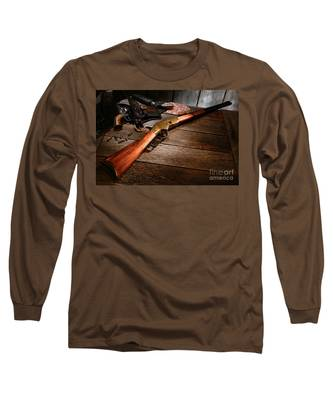 Waiting For The Gunfight Long Sleeve T-Shirt