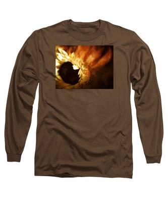 Soft Sunflower Long Sleeve T-Shirt