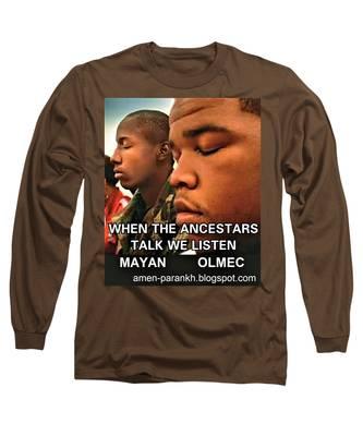American Ancestars Long Sleeve T-Shirt