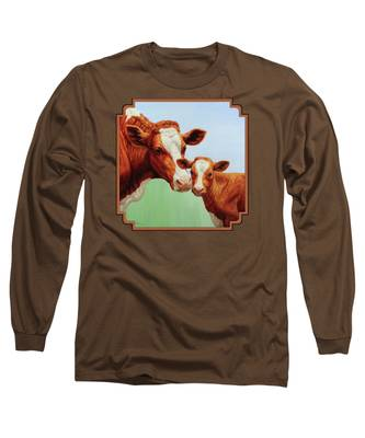 Dairy Long Sleeve T-Shirts