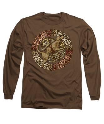 Celtic Dog Long Sleeve T-Shirt