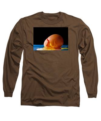 Egg Cracked Long Sleeve T-Shirt