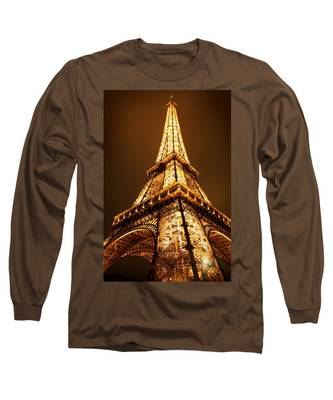 Long Sleeve T-Shirt featuring the photograph Eiffel by Skip Hunt
