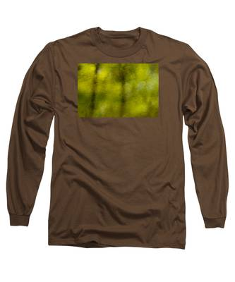 Forest Abstract Reflection Long Sleeve T-Shirt