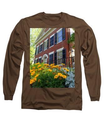 Golden Blooms At The Dahlonega Gold Museum Long Sleeve T-Shirt