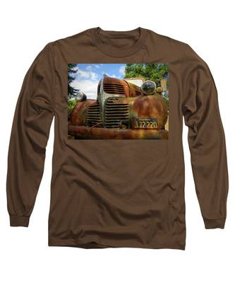 Long Sleeve T-Shirt featuring the photograph Grandpa by Skip Hunt