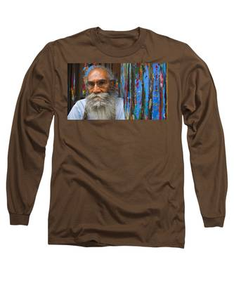Long Sleeve T-Shirt featuring the photograph Orizaba Painter by Skip Hunt