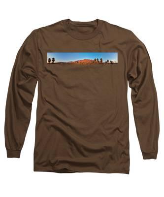 Palm Springs Sunrise Long Sleeve T-Shirt