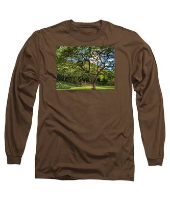 Relaxing Under The Tree Long Sleeve T-Shirt