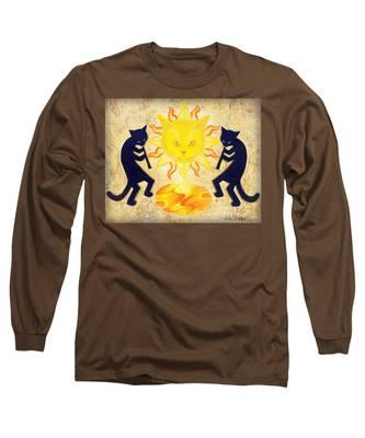 Solar Feline Entity Long Sleeve T-Shirt
