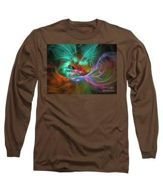 Spring Riot - Abstract Art Long Sleeve T-Shirt