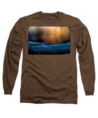 Sunrise Capture In Bubble Long Sleeve T-Shirt