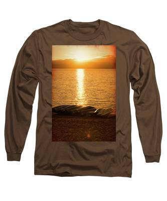 Sunset On Quinault Long Sleeve T-Shirt