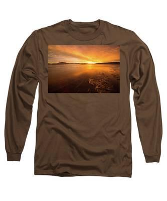 Utah Lake Sunset Long Sleeve T-Shirt