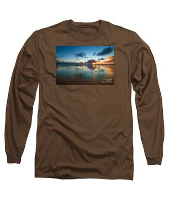 Wales Gower Coast Summer  Long Sleeve T-Shirt