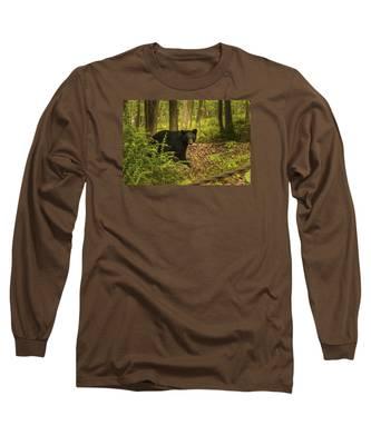 Yearling Black Bear Long Sleeve T-Shirt