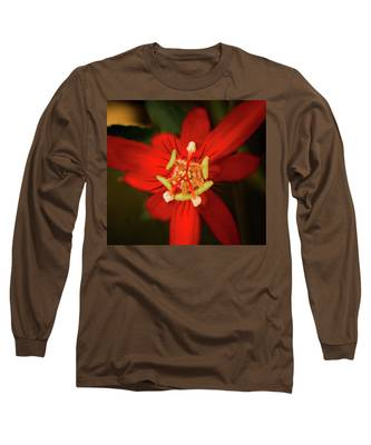 Crimson Beauty Long Sleeve T-Shirt