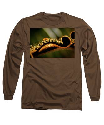 Sleepy Stretching Long Sleeve T-Shirt
