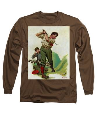 Saturday Evening Post Long Sleeve T-Shirts