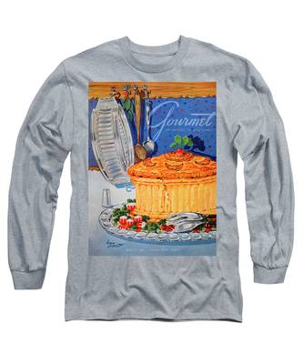 A Gourmet Cover Of Pate En Croute Long Sleeve T-Shirt