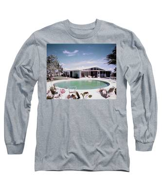 A House In Miami Long Sleeve T-Shirt
