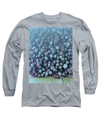 Frozen Blueberries Long Sleeve T-Shirt
