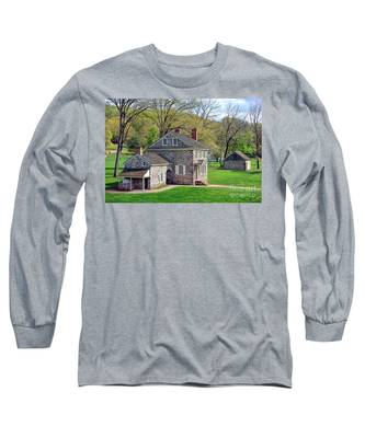 George Washington Headquarters At Valley Forge Long Sleeve T-Shirt