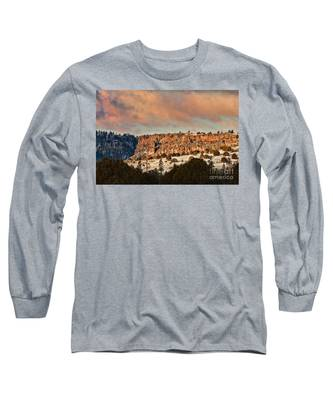 Morning Sun On The Ridge Long Sleeve T-Shirt