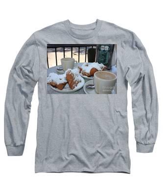 New Orleans Breakfast Long Sleeve T-Shirt