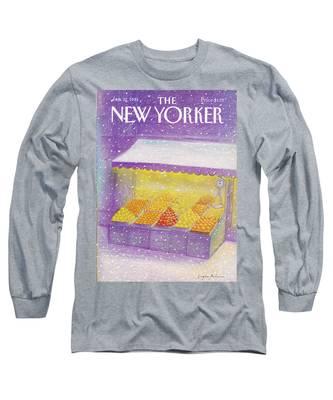 New Yorker January 12th, 1981 Long Sleeve T-Shirt