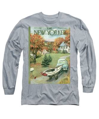New Yorker October 11th, 1958 Long Sleeve T-Shirt