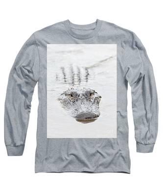Sneaky Swamp Gator Long Sleeve T-Shirt