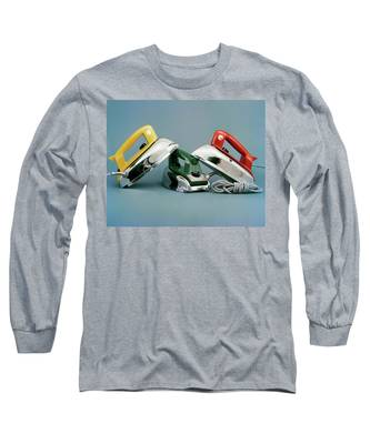 Three Irons By Casco Products Long Sleeve T-Shirt