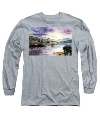 Late Evening At Tintern Abbey Long Sleeve T-Shirt