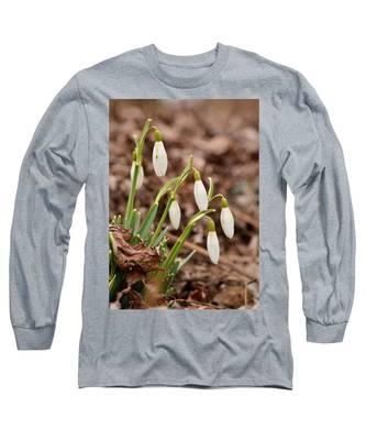 Snow Drops Long Sleeve T-Shirt