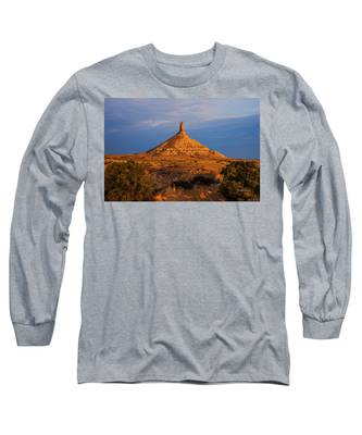 Sunrise At Chimney Rock Long Sleeve T-Shirt