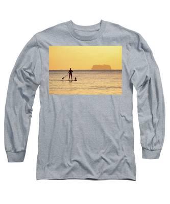 Evening Paddle Long Sleeve T-Shirt