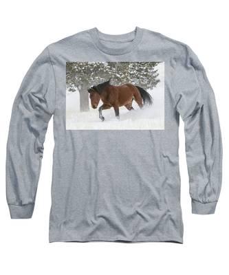 Snowplow Long Sleeve T-Shirt