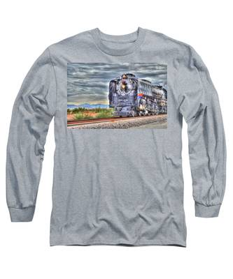 Steam Train No 844 Long Sleeve T-Shirt