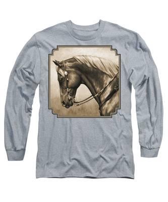 Equine Long Sleeve T-Shirts