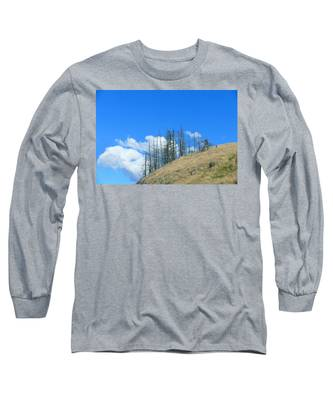 At The End Of The World Long Sleeve T-Shirt