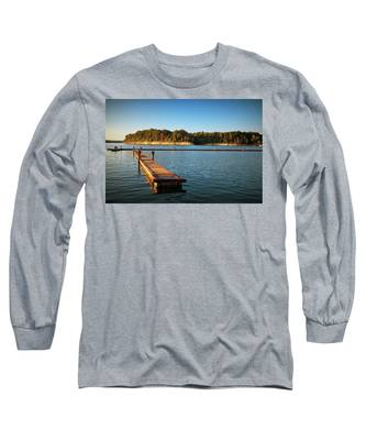 Barren River Lake Dock Long Sleeve T-Shirt